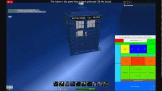the cybermen in the tardis (roblox) By nickle389