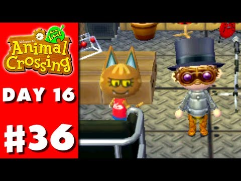 Animal Crossing: New Leaf - Part 36 - Steampunk Date (Nintendo 3DS Gameplay Walkthrough Day 16) from YouTube · Duration:  32 minutes 44 seconds