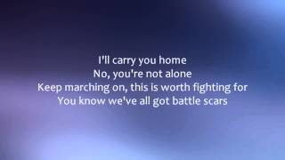 Paradise Fears - Battle Scars [Lyrics]