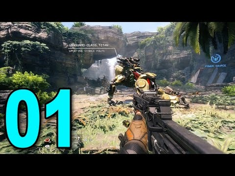 Titanfall 2 Singleplayer - Part 1 - The Pilot's Gauntlet