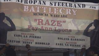 AfroPan Performing Raze By Fay Ann Lyons (Pan Alive 2015)