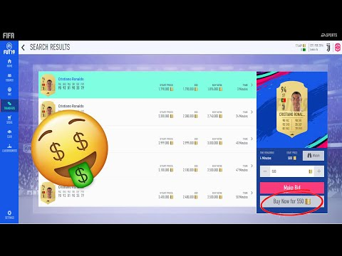 How To Find INSANE Sniping Filters / Trading Methods - Fifa 19 Web App