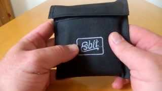 Esbit Ultralight Stainless Steel Fuel Tab/ Alcohol Stove Overview/ Test