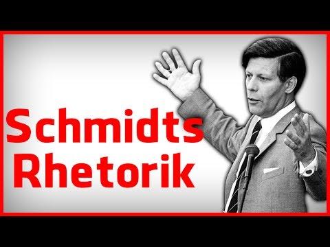 Die Rhetorik des Helmut Schmidt