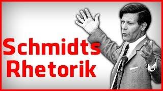 Die Rhetorik des Helmut Schmidt - Best of deutscher Redekunst