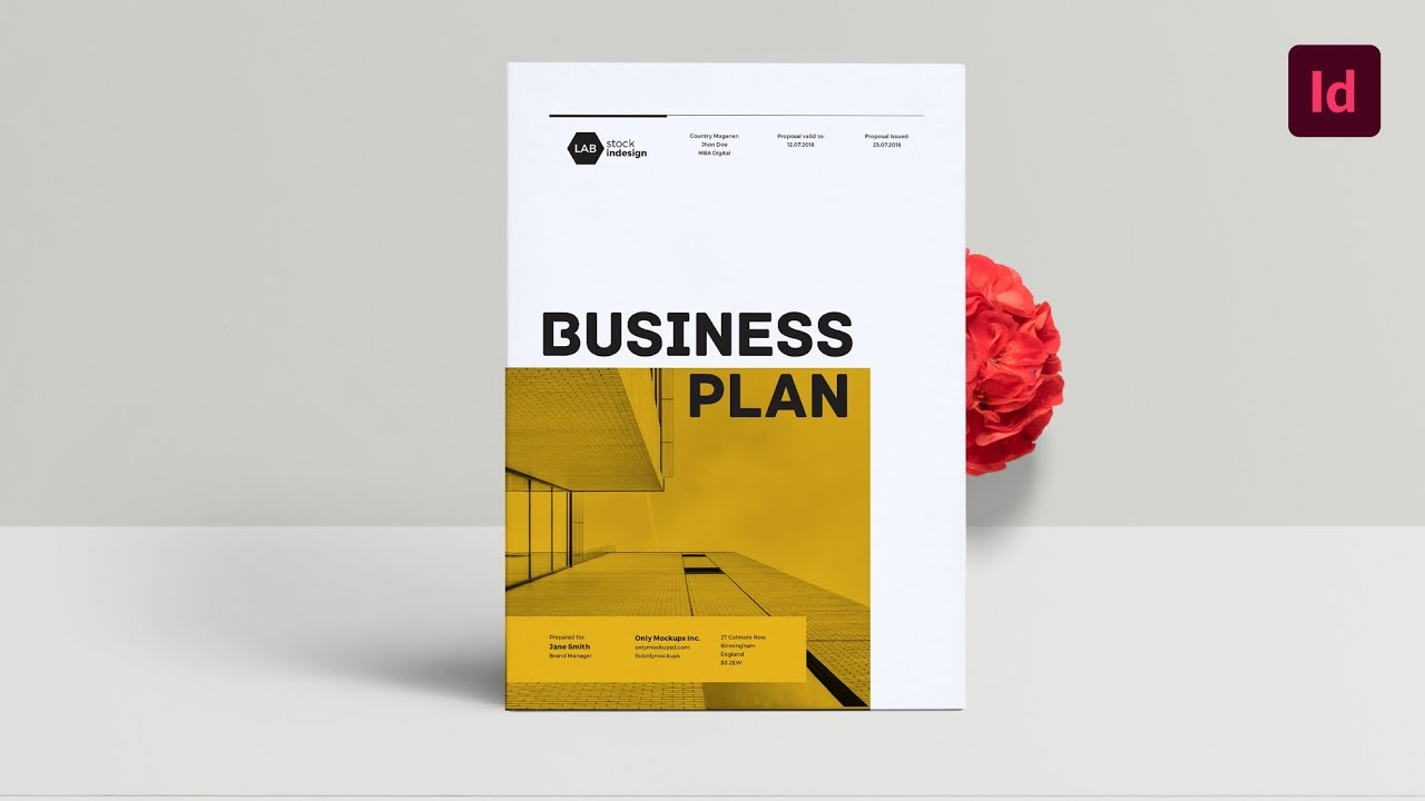 Business Plan: InDesign Template - YouTube