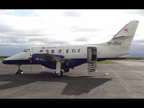 BAe-3201 Jetstream Super 31 (TF-ORA) in the Höfn Airport (Iceland)
