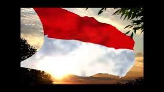 Indonesia Raya anthem synchronized music by Larysa Smirnoff