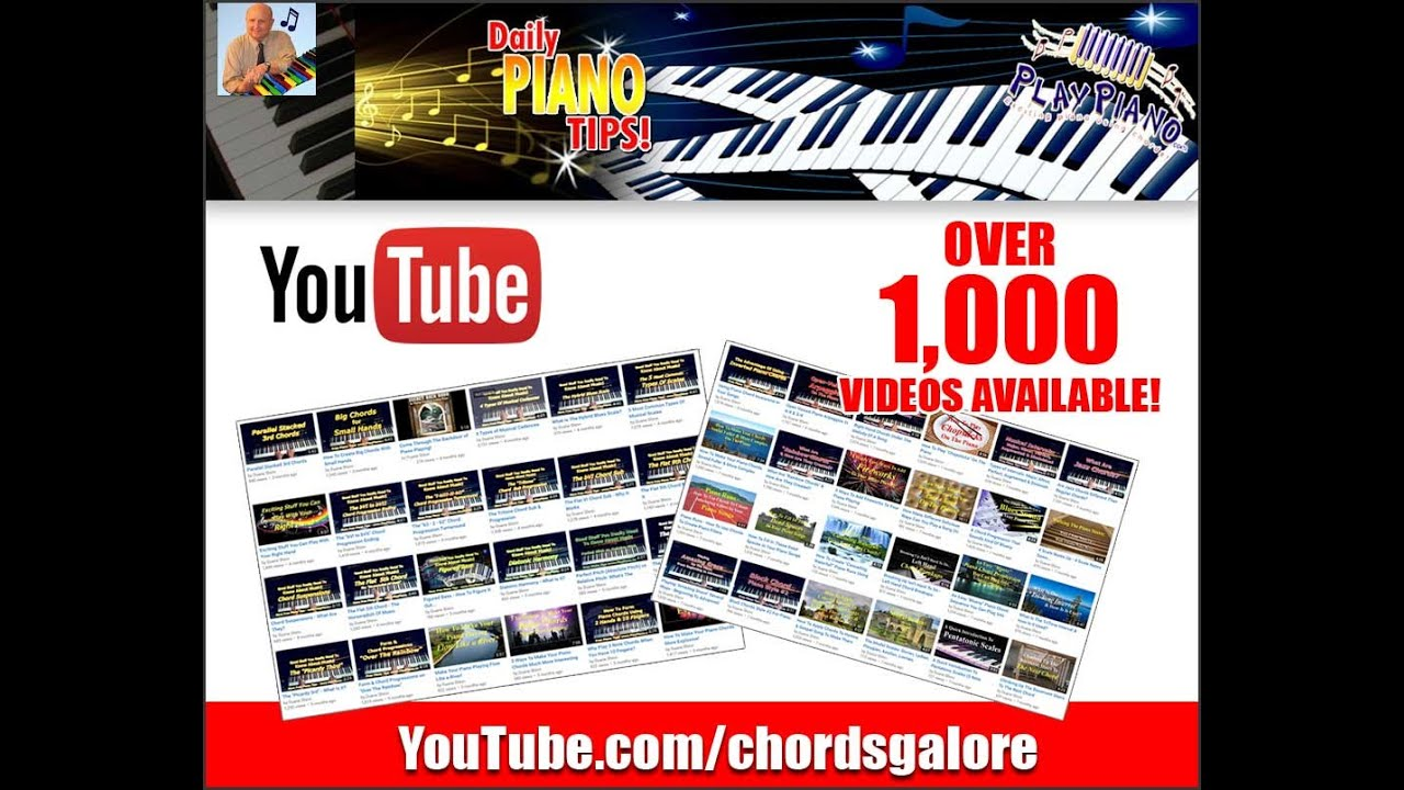 Over 1000 free piano lessons for adults on youtube youtube hexwebz Image collections