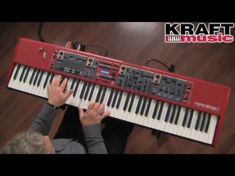 Kraft Music - Nord Stage 2 Performance Keyboard Demo with Chris Martirano