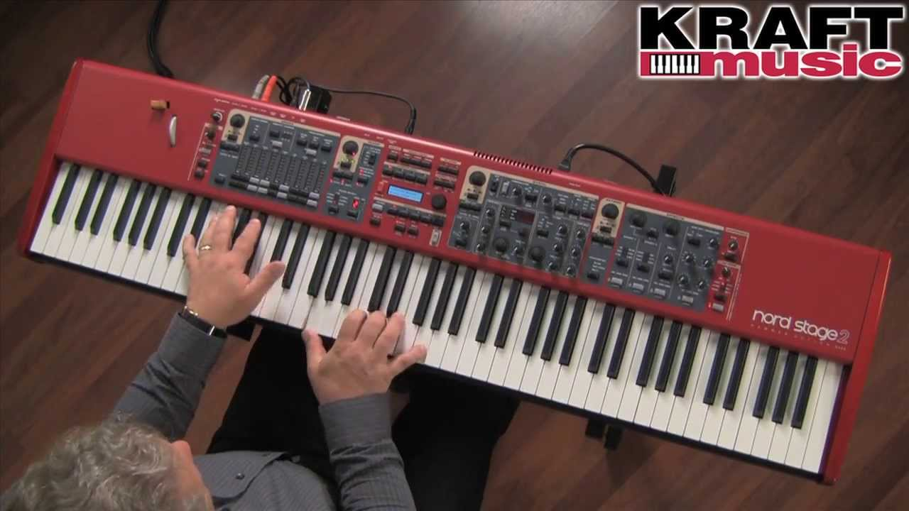 kraft music nord stage 2 performance keyboard demo with chris martirano youtube. Black Bedroom Furniture Sets. Home Design Ideas