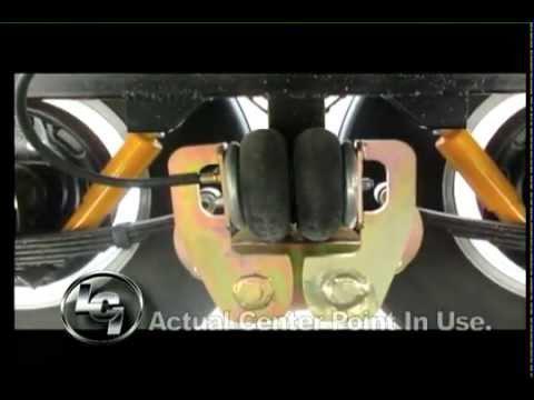 Center Point RV suspension system