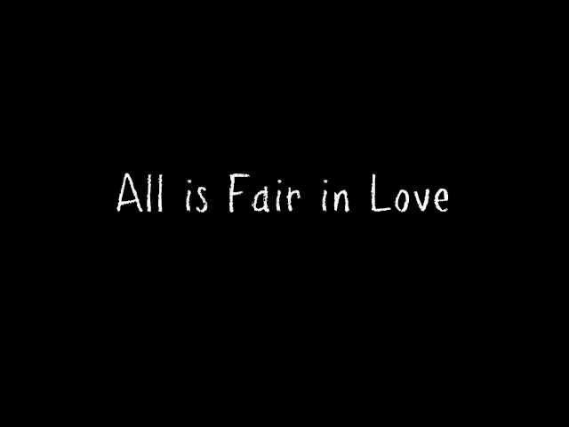 All in Love is Fair lyrics