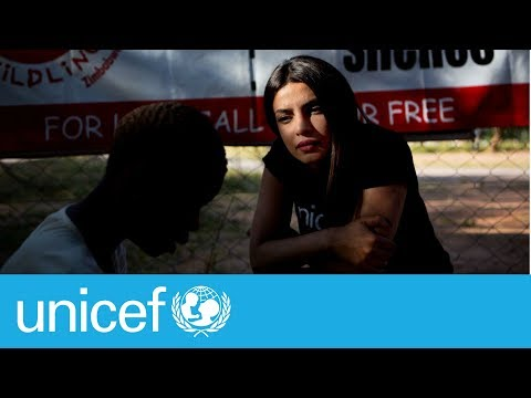 Priyanka Chopra meets children affected by violence | UNICEF