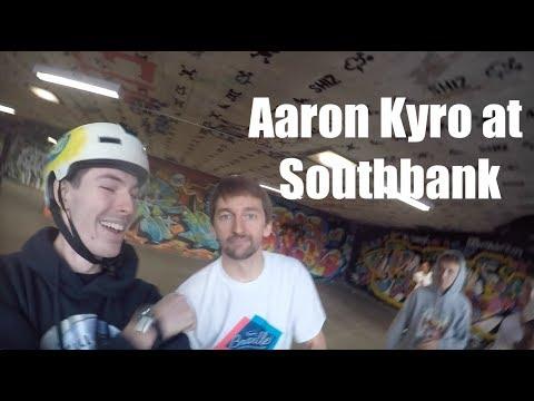Meeting Aaron Kyro at SouthBank London