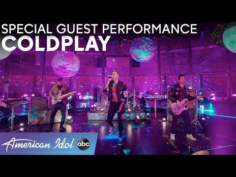 """Coldplay Performs New Single """"Higher Power"""" - American Idol 2021"""