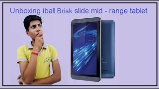 Unboxing Iball brisk slide 4G2 / Is that mid range tablet / Why should you buy