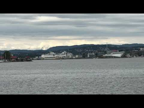 1 Minute in Norway: Oslo by land and sea