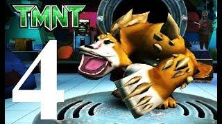 Черепашки ниндзя бег по крышам #4 мультик игра для детей о ниндзя черепашках TMNT ROOFTOP RUN