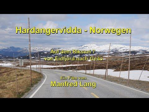 Hardangervidda – Rv 7 – Norwegen – Durch die Windschutzscheibe betrachtet!