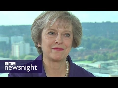 Theresa May on morals, Brexit, Yemen and peerages - BBC Newsnight