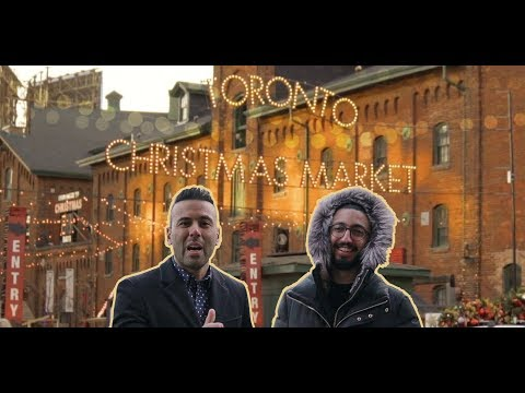 Toronto Christmas Market 2018 | Distillery District