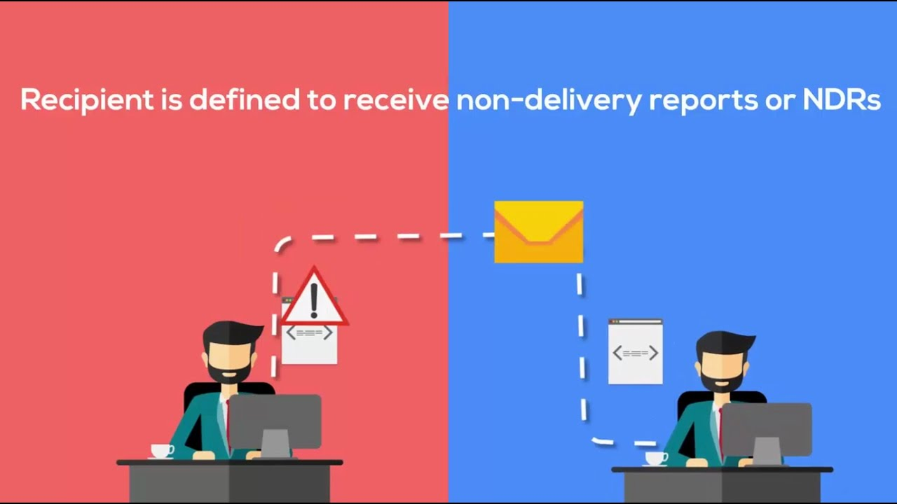 Setting up a recipient in Office 365 for Non-Delivery Reports (NDR)
