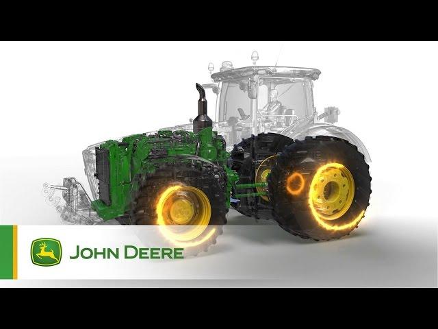 Trattori 7R/8R John Deere - Massima Efficienza