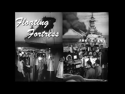 Floating Fortress: The Battleship Wisconsin in Action (1952-Restored)
