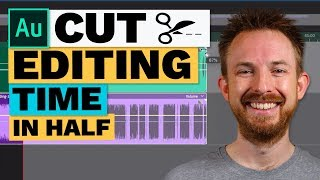 Slow Down and Speed Up Audio in Adobe Audition (Cut Editing Time in Half!)