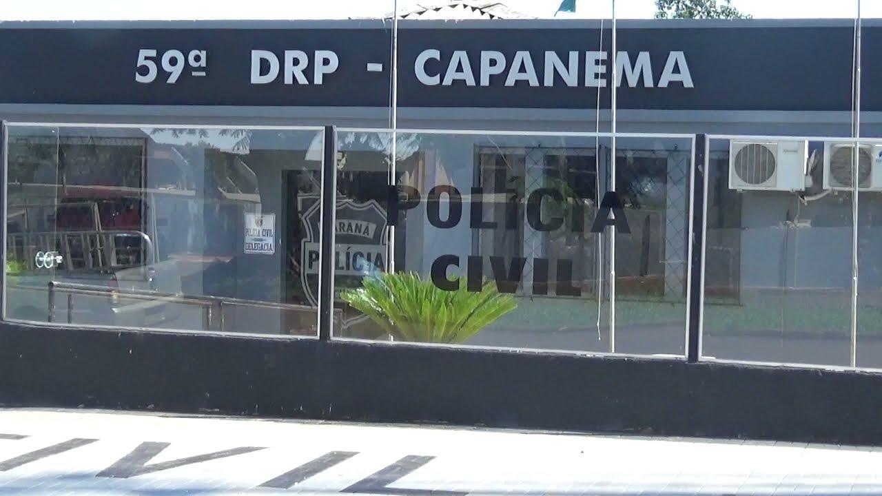Polícia Civil de Capanema cumpre mandado de prisão por tráfico de drogas