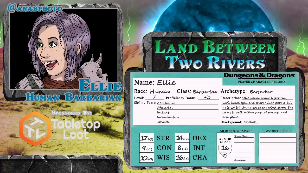 Land Between Two Rivers Episode 18: Web DM 5e Dungeons and Dragons Live Play