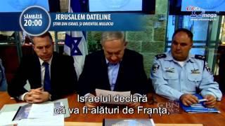 TRAILER: Jerusalem Dateline 104 - sambata 28 noiembrie 2015, ora 20, la Alfa Omega TV