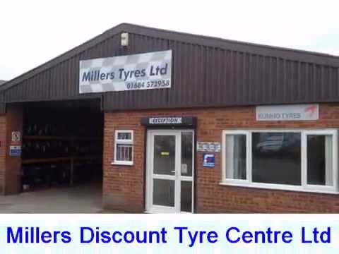 Tyre Supply & Fitting – Millers Discount Tyre Centre Ltd