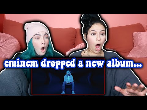 EMINEM DROPPED A NEW ALBUM!!! *DARKNESS REACTION*