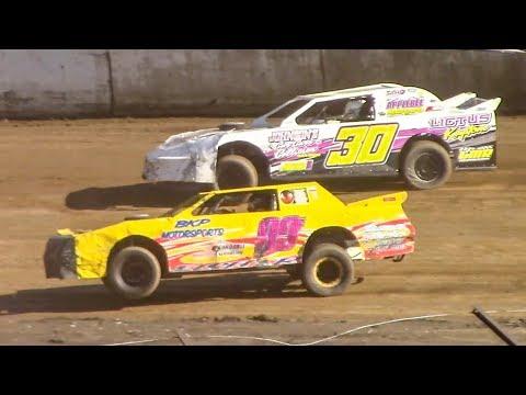 Street Stock Heat One   Eriez Speedway   9-23-18