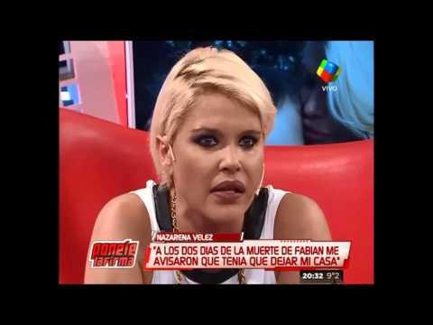 Nazarena habló de la misteriosa deuda de Fabián Rodríguez