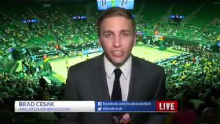 Grambling Pre-NCAA Tournament 6pm Sports Live Shot 3-16-18