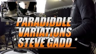 Paradiddle Variations - Steve Gadd (Up Close Book)