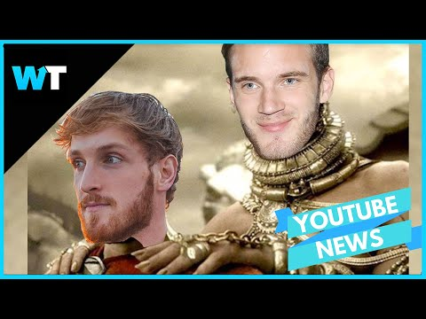 Pewdiepie Calls on Logan Paul to HELP In Fight Against T-Series