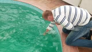 видео Построить бассейн на даче - виды, характеристики и монтаж