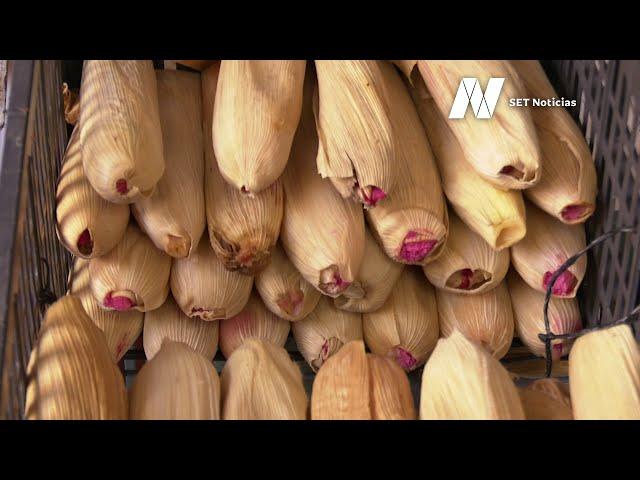 Incremento del 30 por ciento prevén comerciantes de tamales para este 2 de febrero
