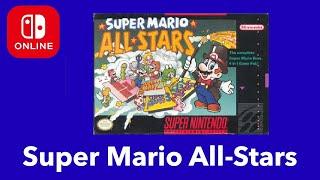 Super Mario All-Stars | New Nintendo Switch Online SNES Game (September 2020)