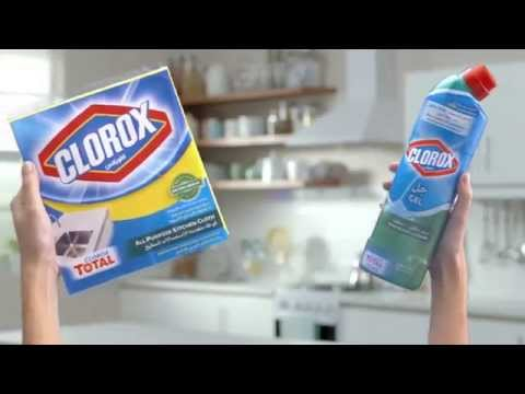 Clorox Gel Bleach: More Control. Unbeatable cleaning and disinfection