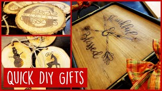 How To Brand Wood without a Branding Iron - Wood Burning with Ammonium Chloride