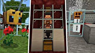 Новые МИКРО ФЕРМЫ Для Выживания! | Майнкрафт Пе 1.16.40 | Minecraft Bedrock Edition | #ЛПД