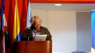 Gerardo Rivera lee sus poemas
