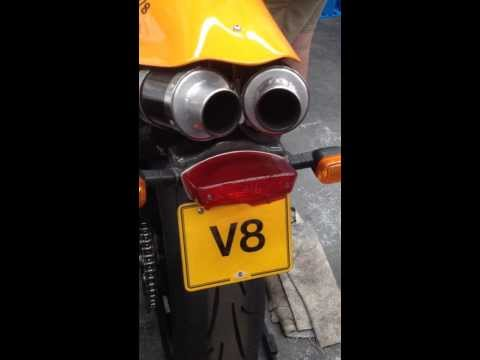 V8 MOTORCYCLE DRYSDALE 750 V8