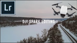 How To Edit DJI SPARK PHOTOS!!!