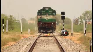 Railway crossing accident video